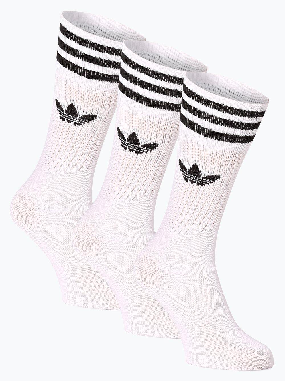 adidas Originals - Skarpety męskie pakowane po 2 szt., biały