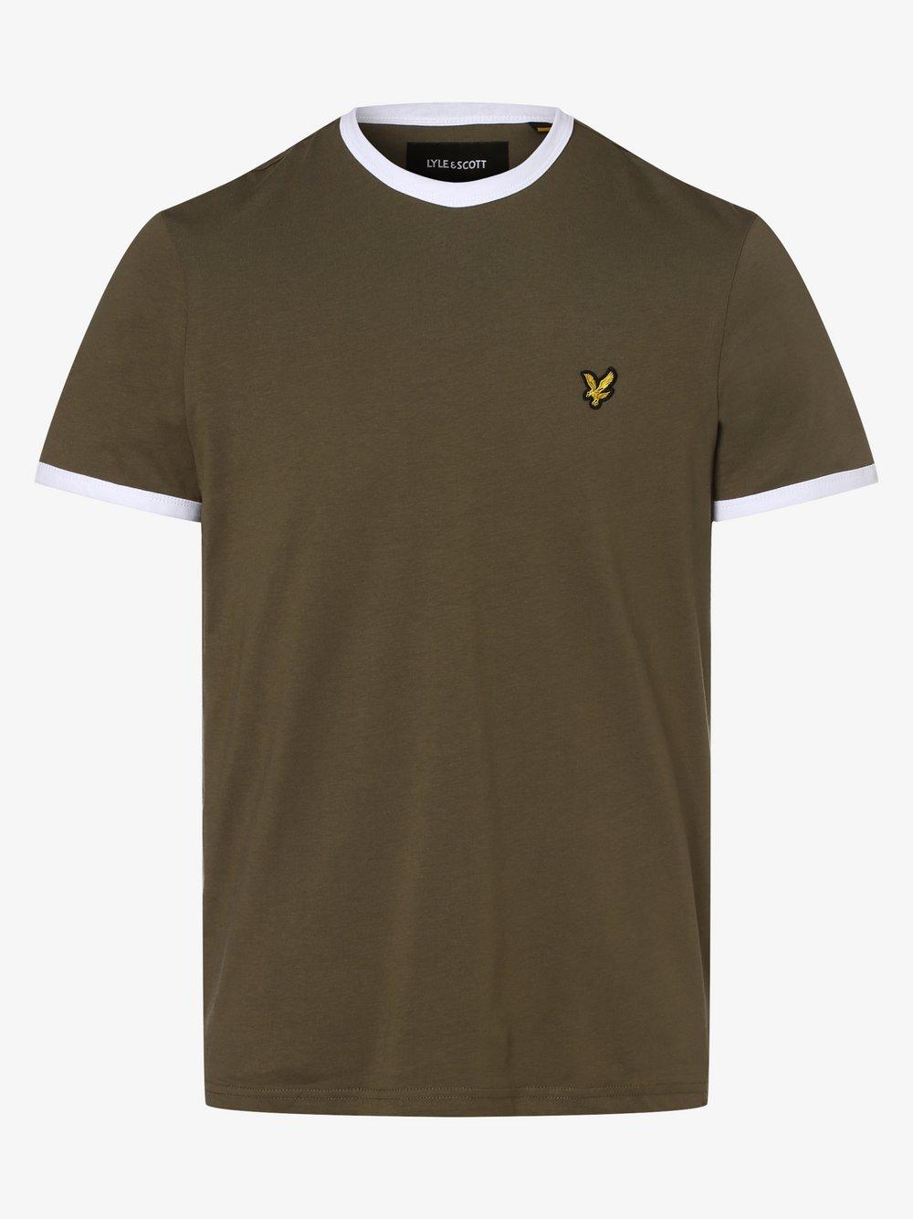 Lyle & Scott - T-shirt męski, zielony