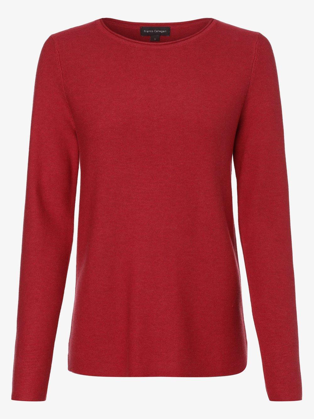 Franco Callegari - Sweter damski, czerwony