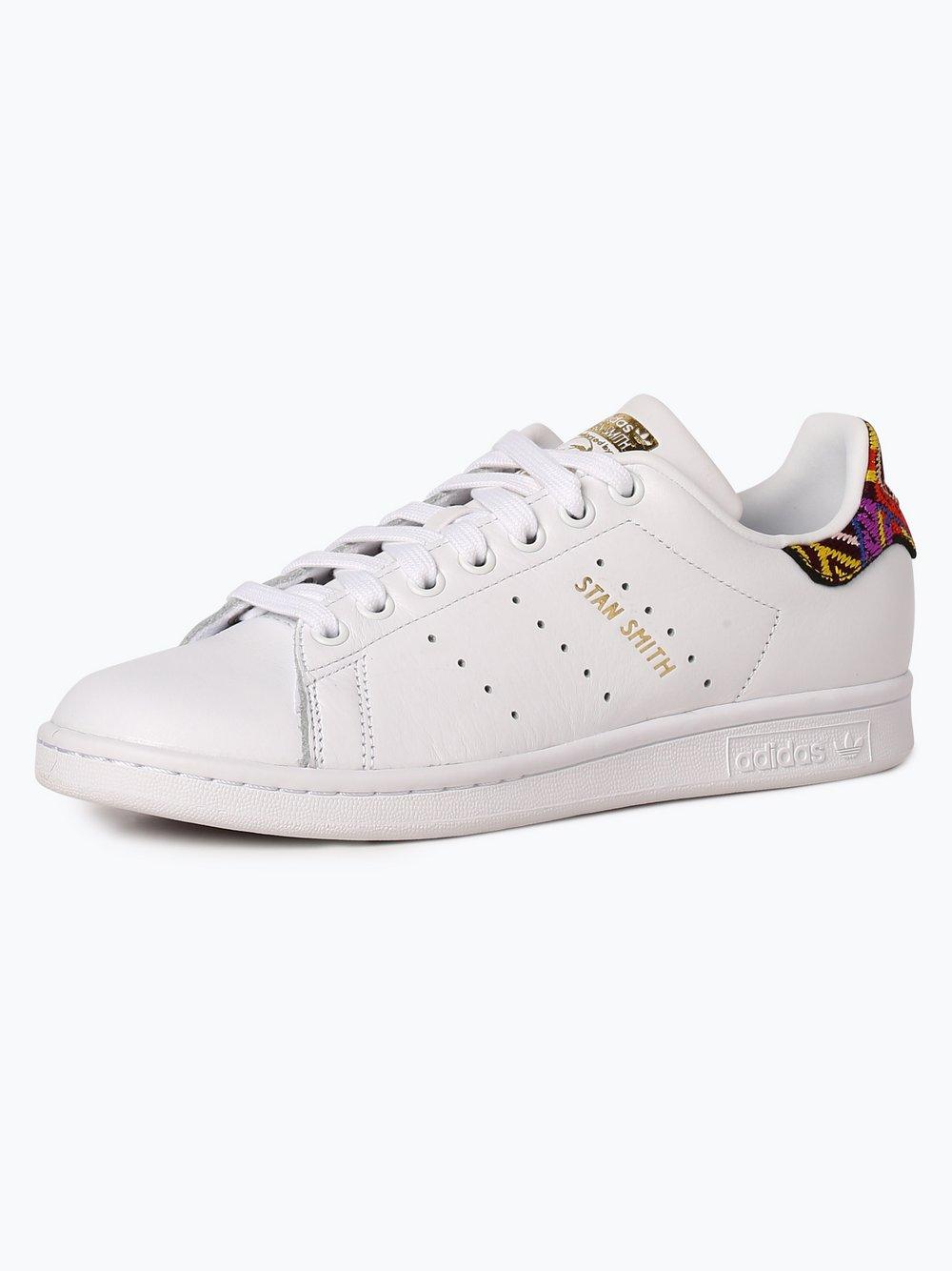 Obraz przedstawiający adidas Originals - Damskie tenisówki ze skóry – Stan Smith, czarny