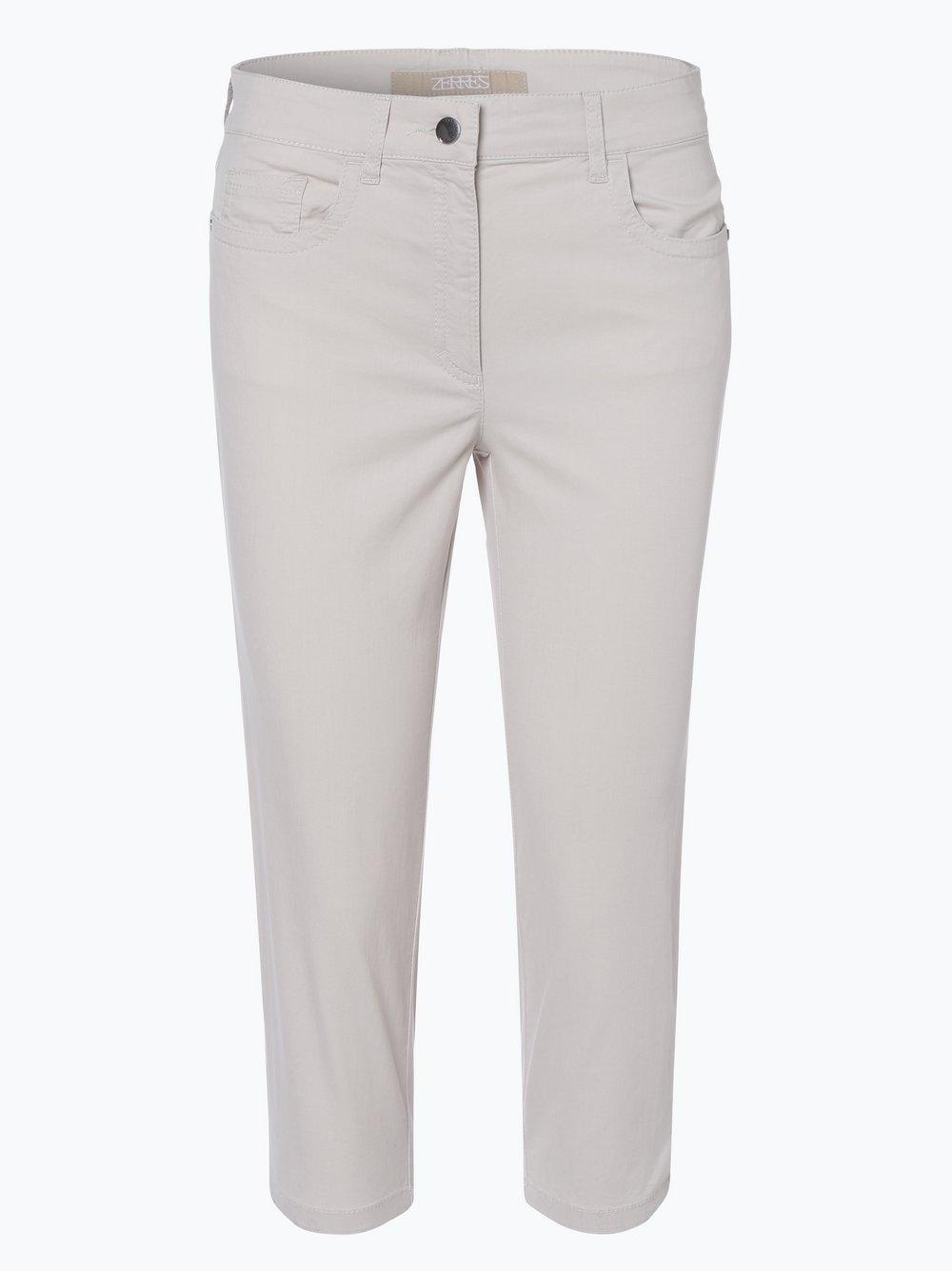 Zerres – Spodnie damskie – Cora, beżowy Van Graaf 404912-0001-00360