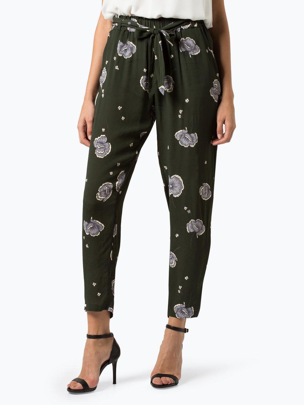 Minimum – Spodnie damskie – Roseanna, zielony Van Graaf 406726-0001