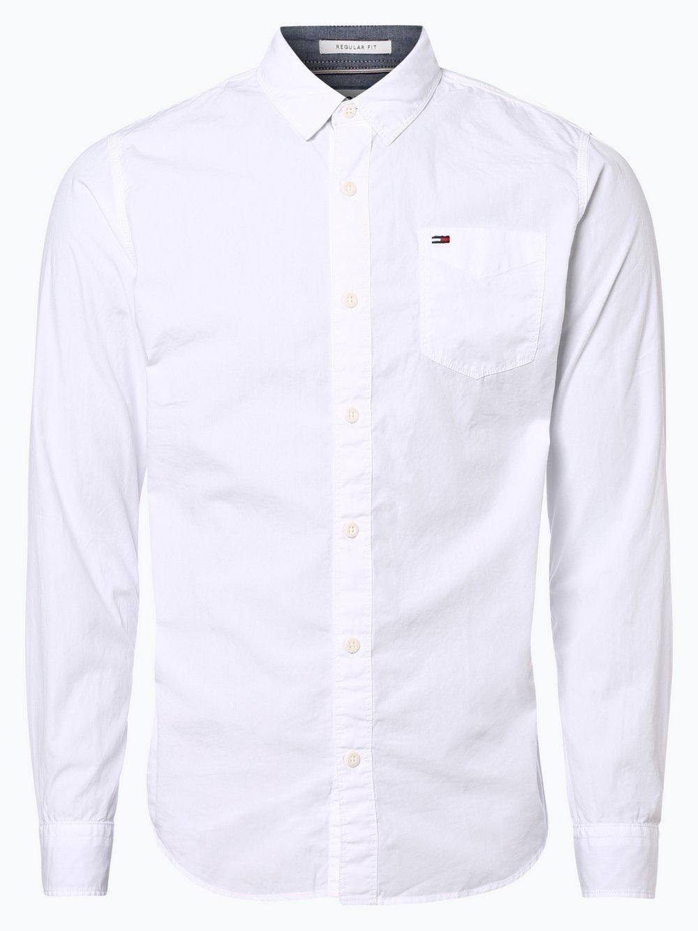Tommy Jeans - Koszula męska, biały