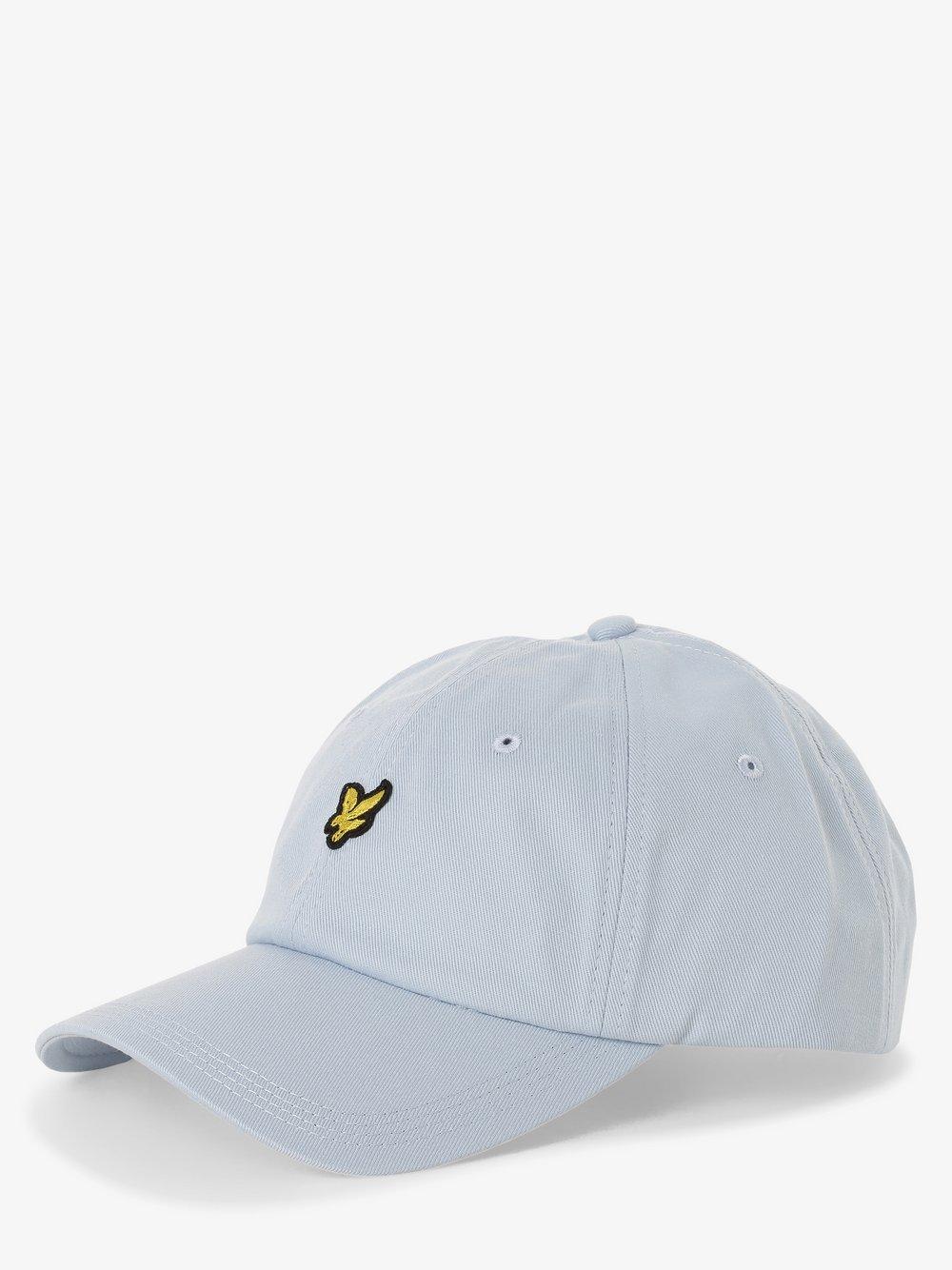 Lyle & Scott – Męska czapka z daszkiem, niebieski Van Graaf 411737-0004-00000