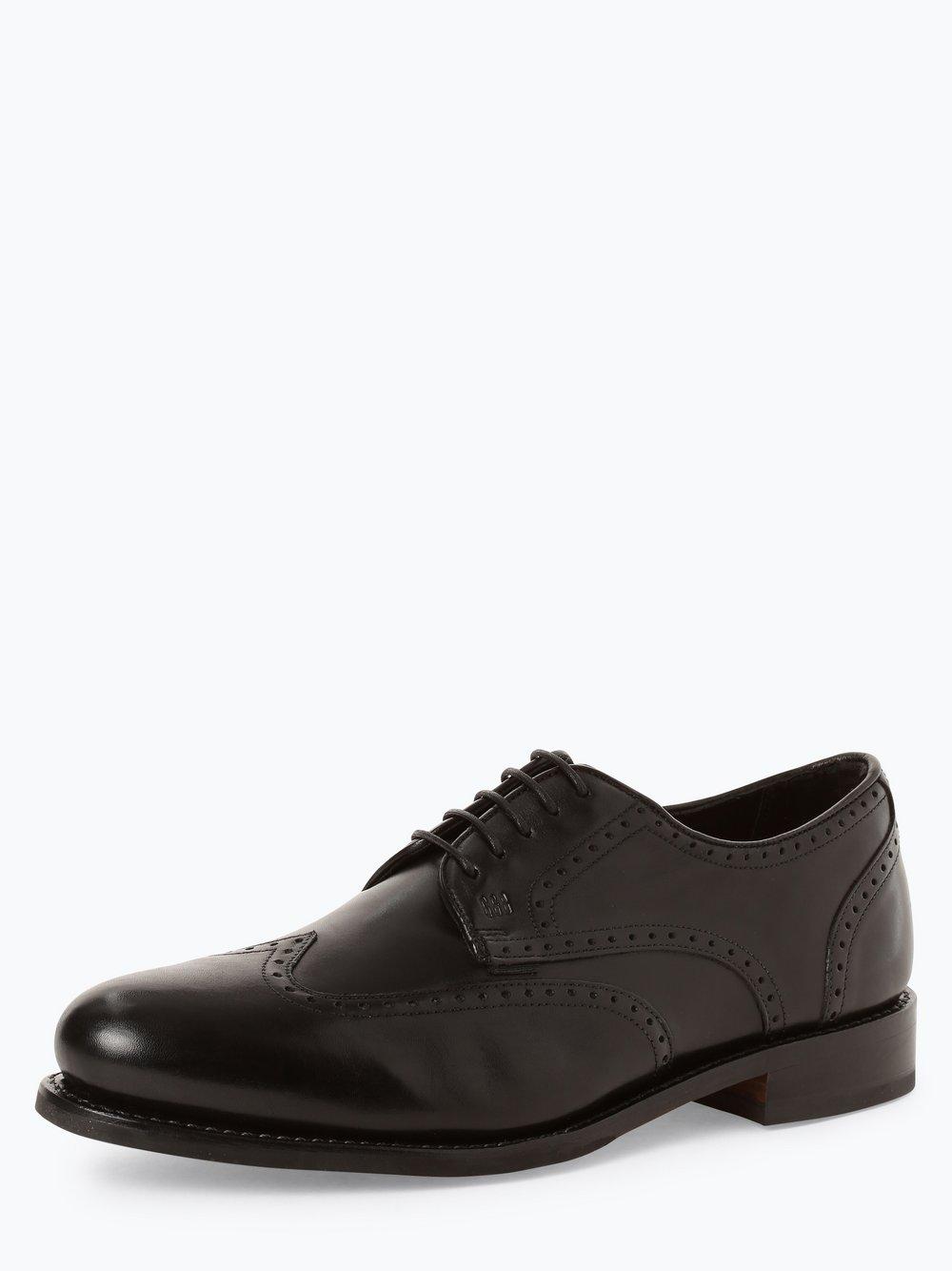 Gordon & Bros. - Męskie buty ze skóry – Levet, czarny