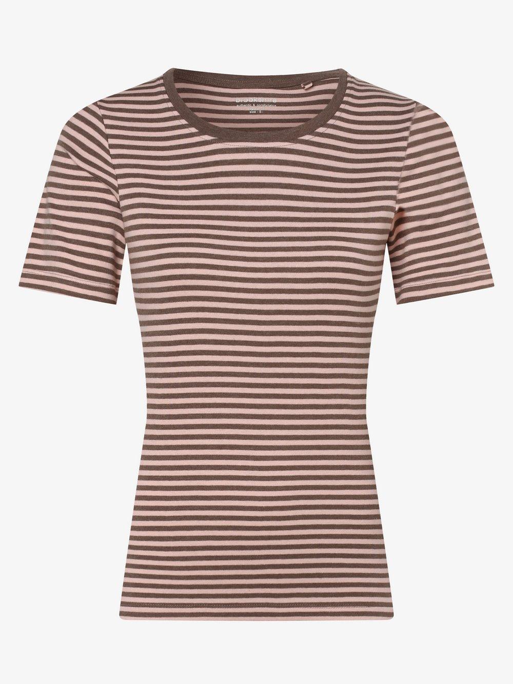 brookshire - T-shirt damski, beżowy
