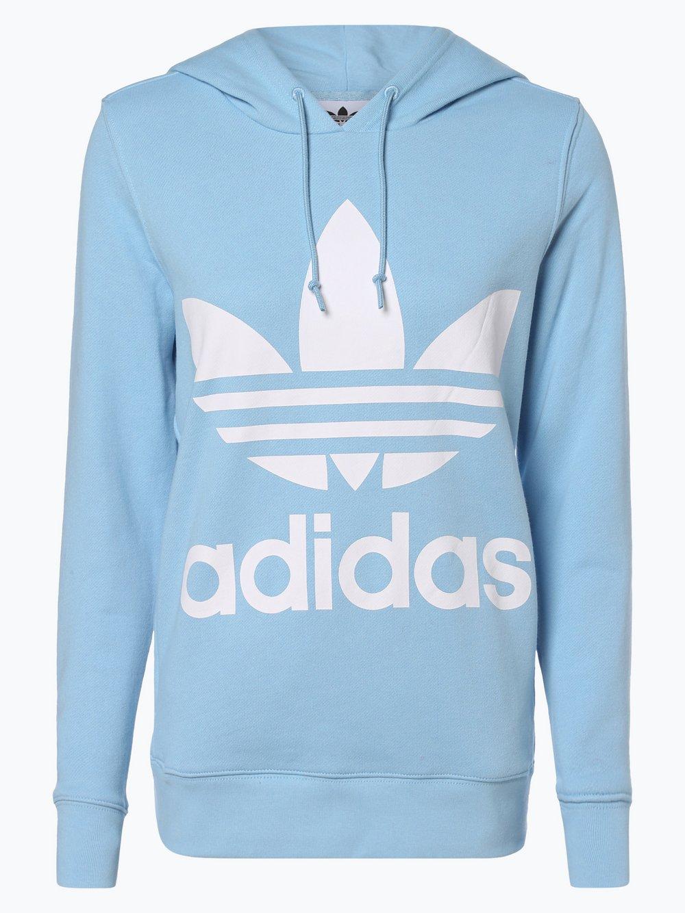 Obraz przedstawiający adidas Originals - Damska bluza nierozpinana, niebieski