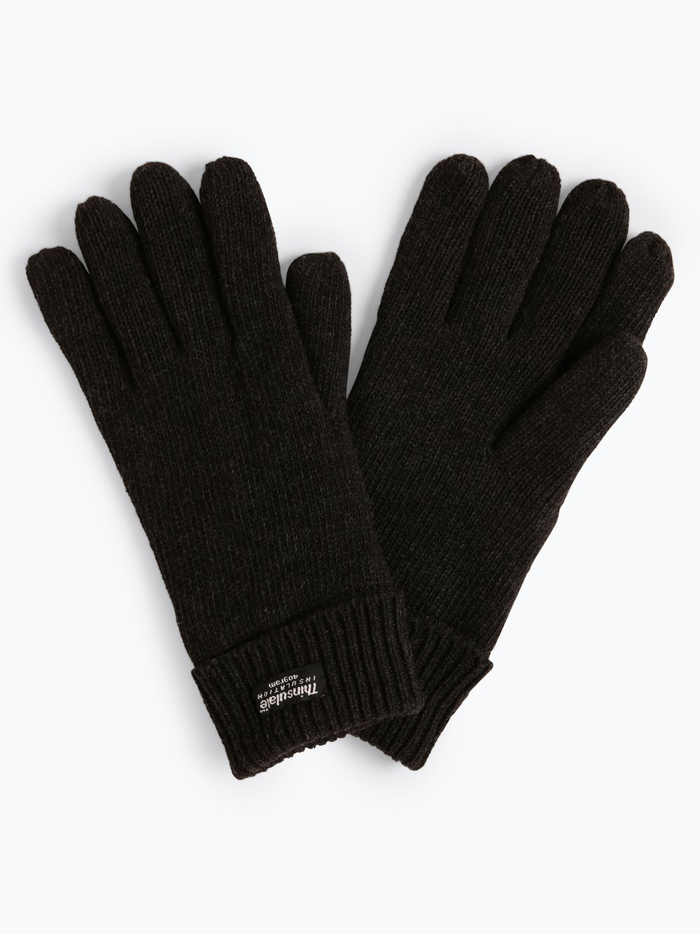 eem – Rękawiczki męskie, szary Van Graaf 413130-0002-09970