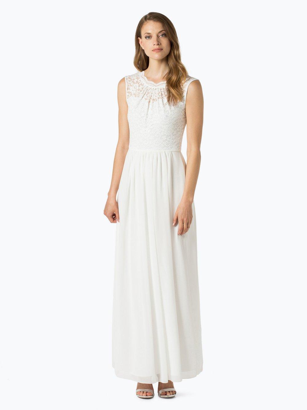 Swing - Damska sukienka wieczorowa, beżowy