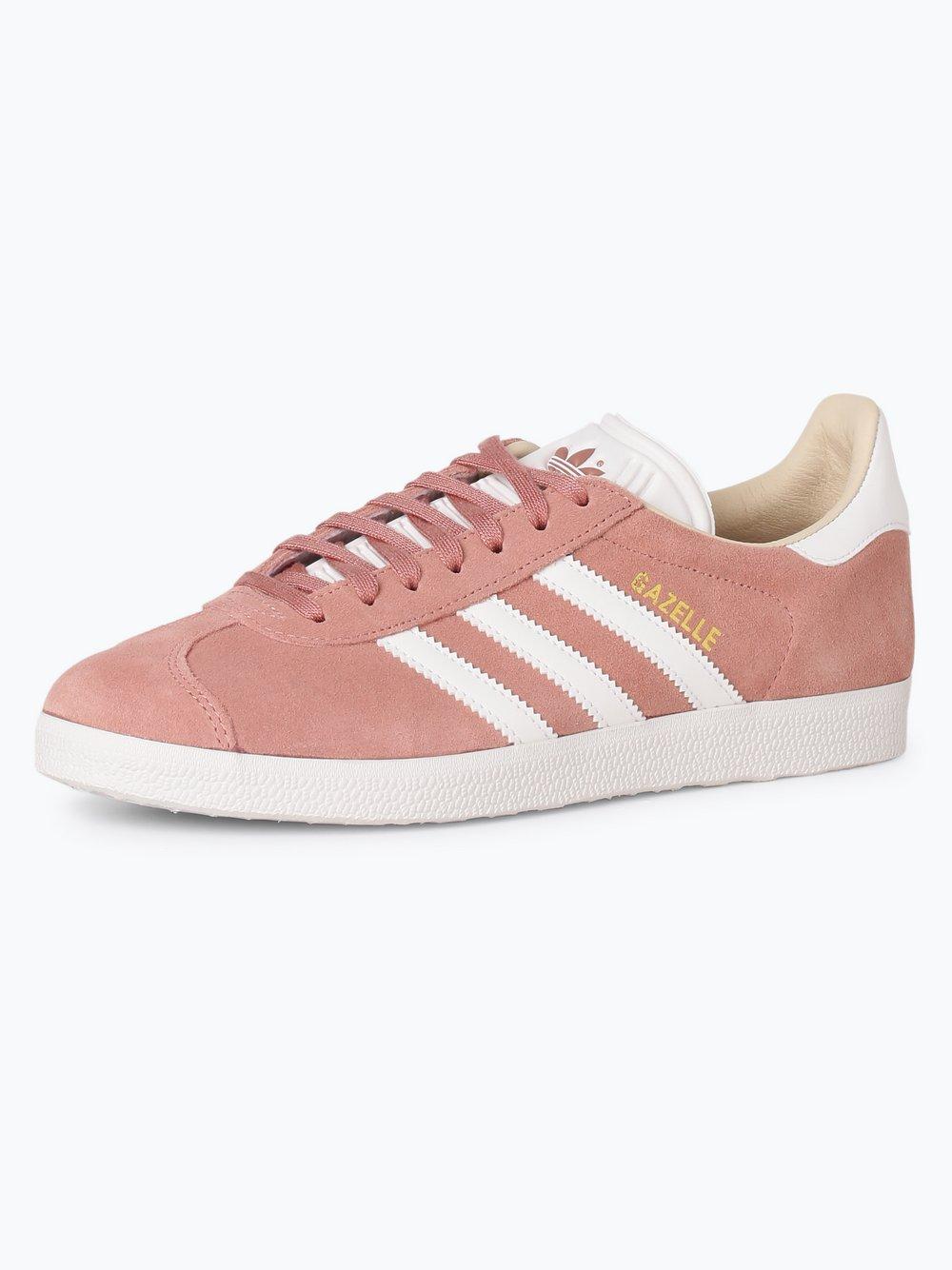 Obraz przedstawiający adidas Originals - Damskie tenisówki ze skóry – Gazelle, różowy