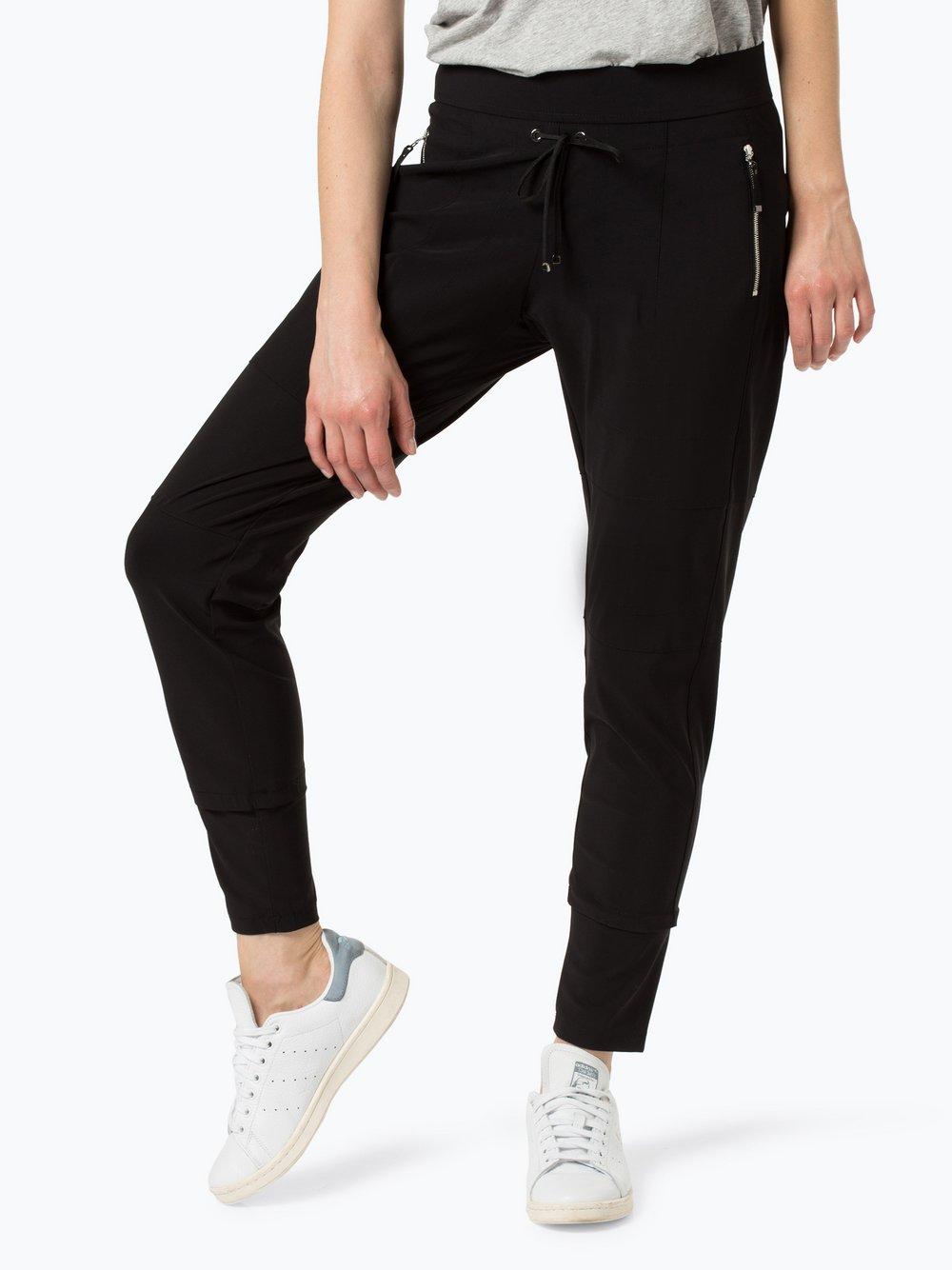 RAFFAELLO ROSSI – Spodnie damskie – Candy, czarny Van Graaf 414295-0001