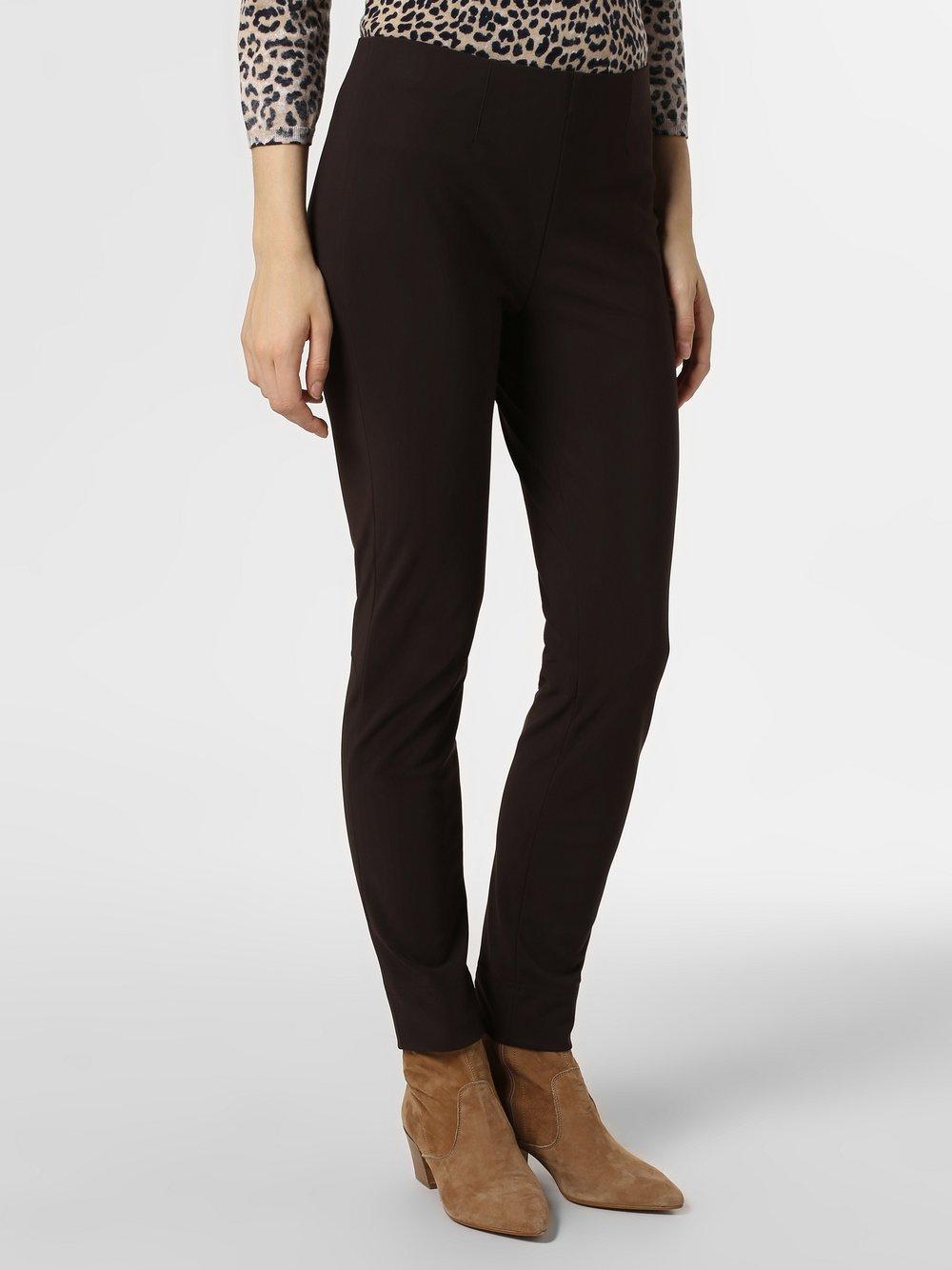 RAFFAELLO ROSSI – Spodnie damskie – Penny, brązowy Van Graaf 414310-0003