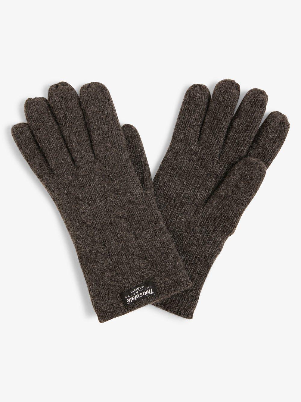 Melkonian – Rękawiczki damskie, szary Van Graaf 416040-0002
