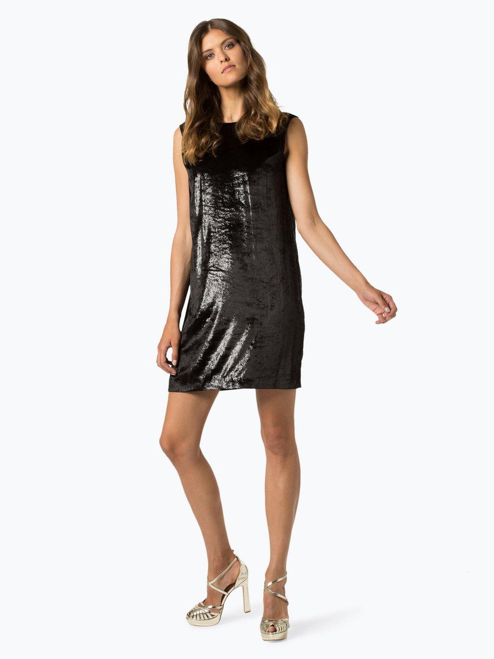 HUGO - Sukienka damska – Komanu-1, czarny