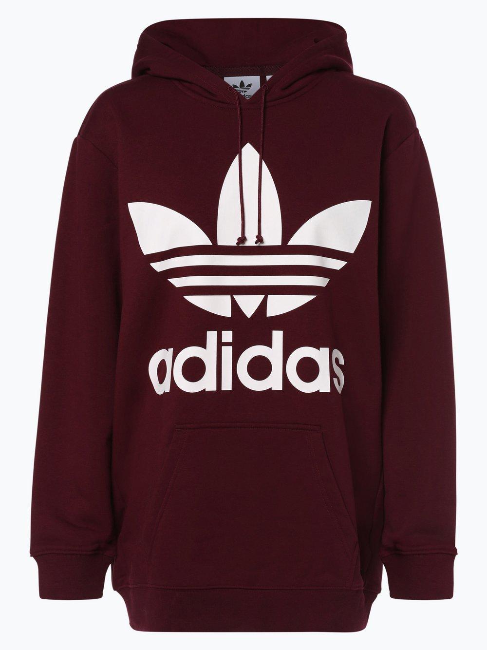Obraz przedstawiający adidas Originals - Damska bluza nierozpinana, czerwony