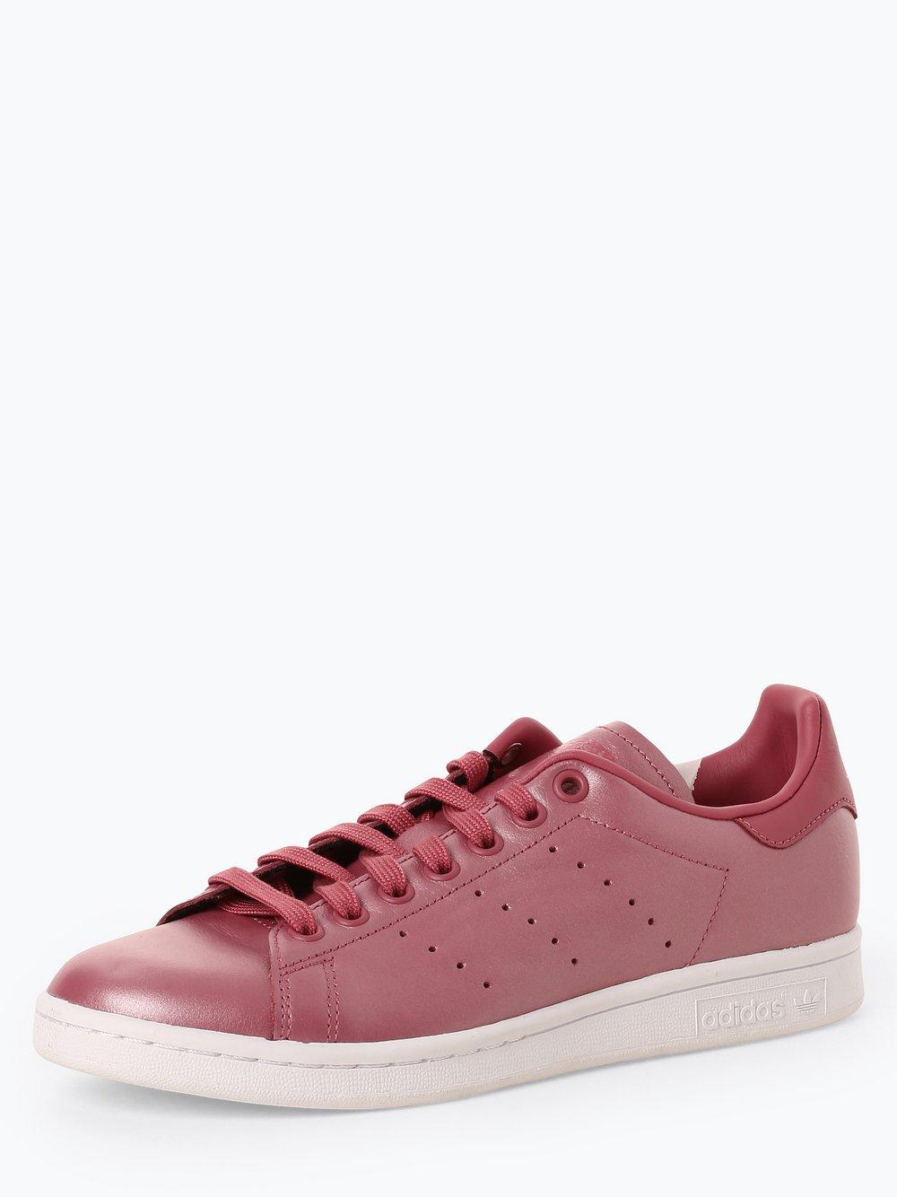 Obraz przedstawiający adidas Originals - Damskie tenisówki ze skóry – Stan Smith, czerwony