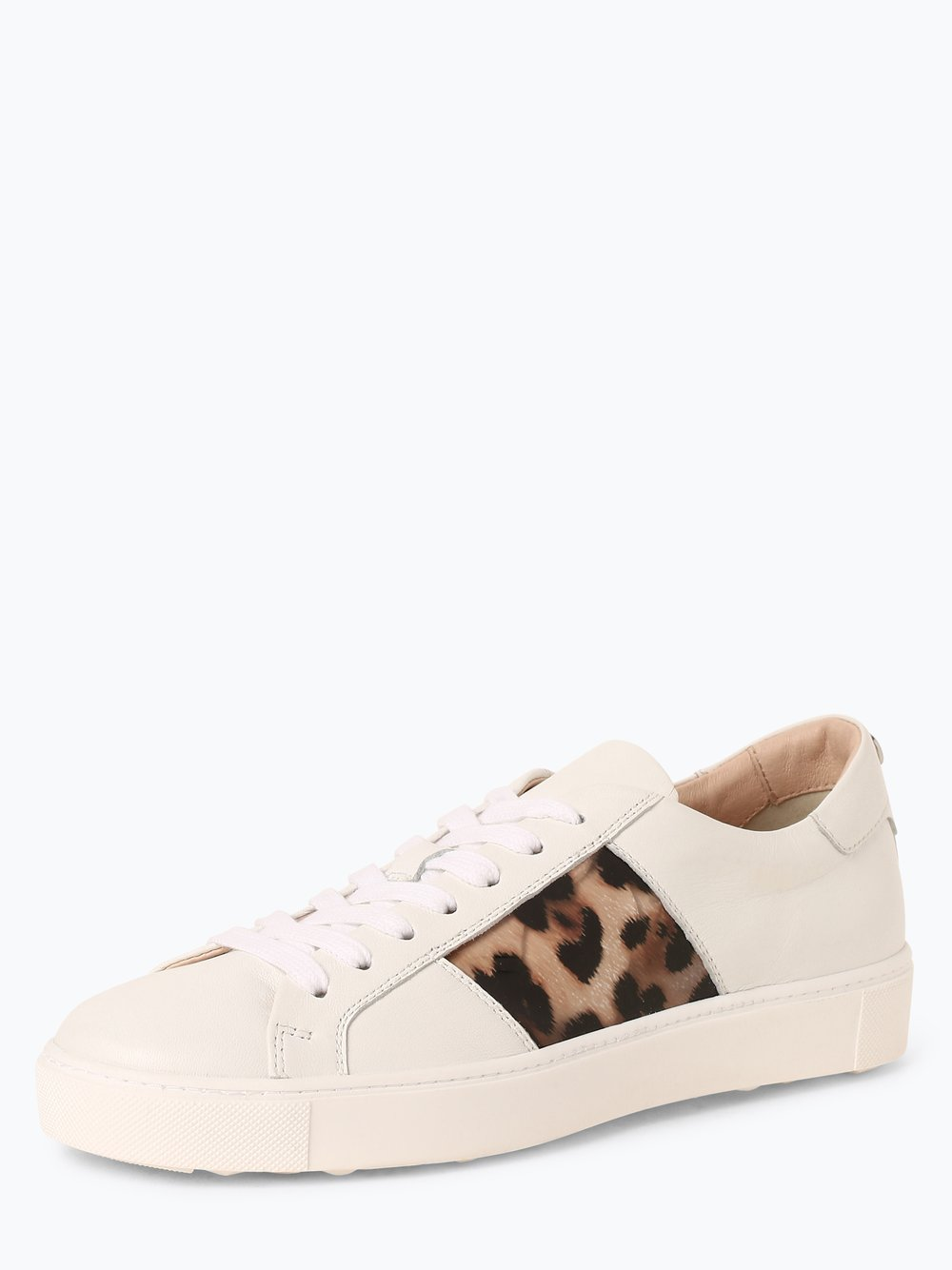 Marc Cain Bags & Shoes - Damskie tenisówki ze skóry, biały