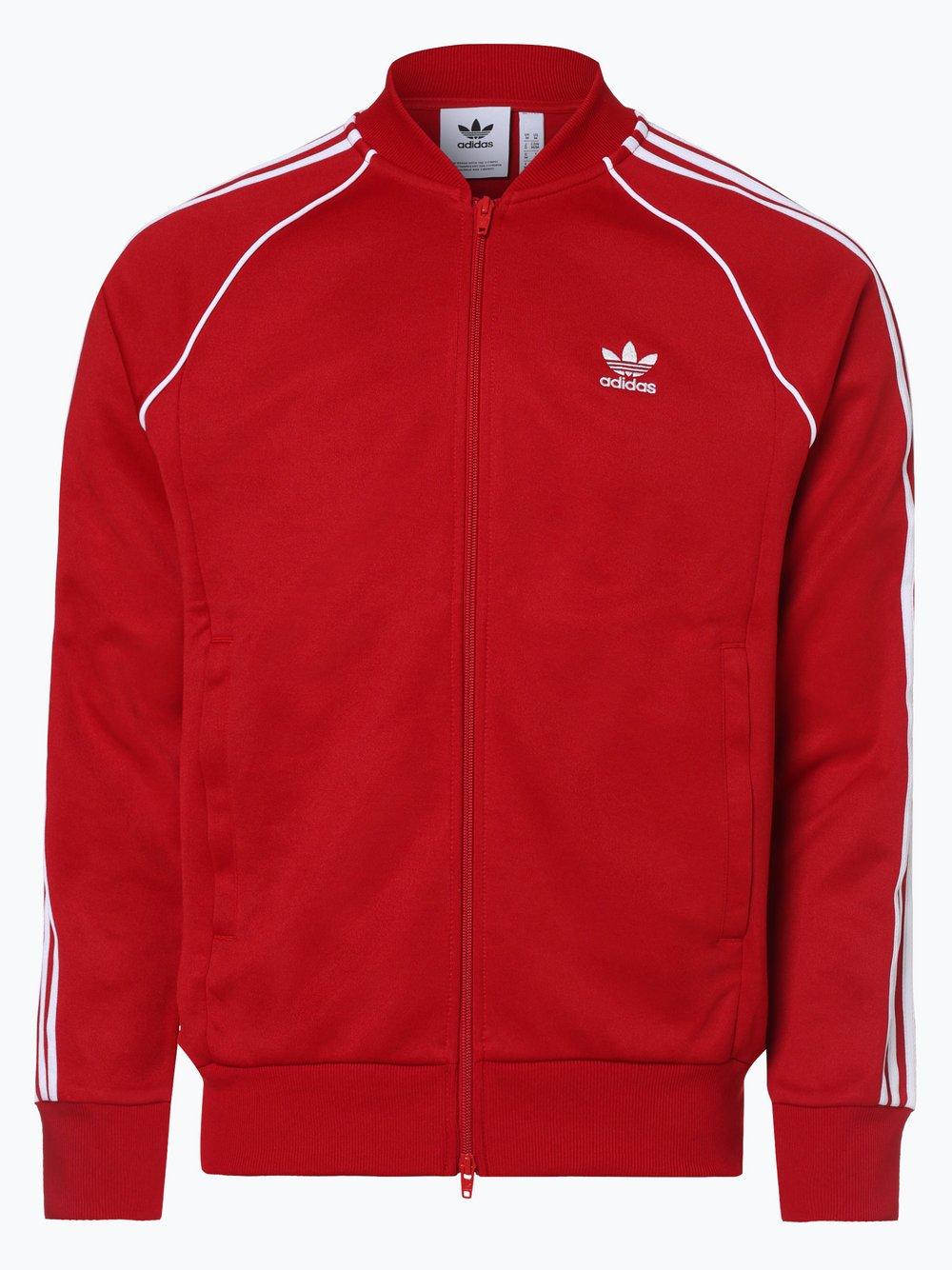 Obraz przedstawiający adidas Originals - Męska bluza rozpinana, czerwony