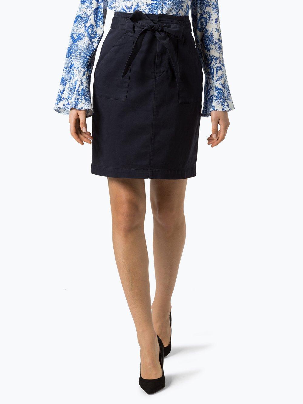 BOSS Casual – Damska spódnica – Bochiny-D, niebieski Van Graaf 422837-0002