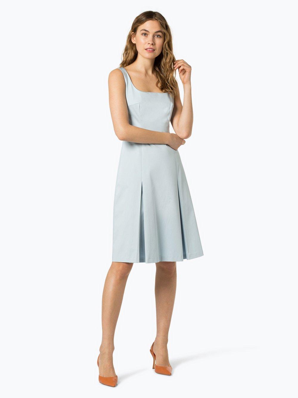 BOSS - Sukienka damska – Dafa, niebieski