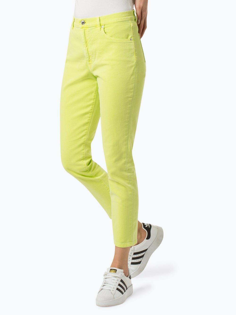HUGO - Jeansy damskie – Gerena, żółty