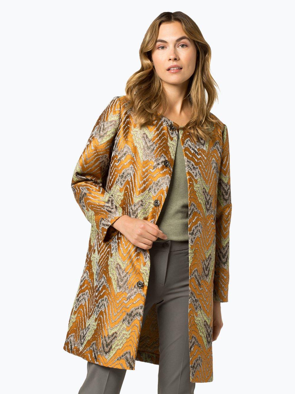 STEFFEN SCHRAUT – Płaszcz damski, pomarańczowy Van Graaf 424246-0001