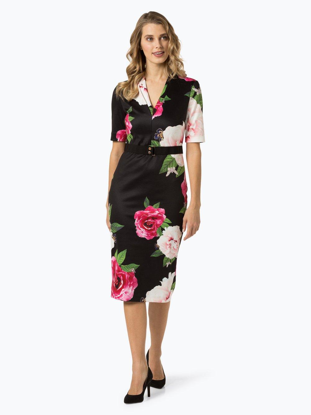 Ted Baker – Sukienka damska – Gilanno, czarny Van Graaf 424431-0001
