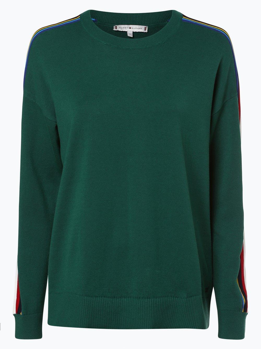 Tommy Hilfiger - Sweter damski, zielony