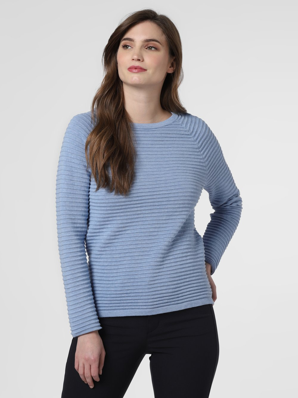 Marie Lund - Sweter damski, niebieski