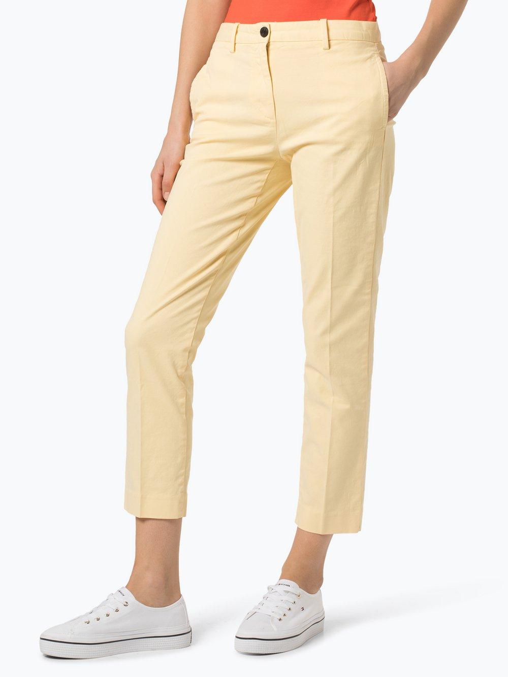 Tommy Hilfiger - Spodnie damskie, żółty
