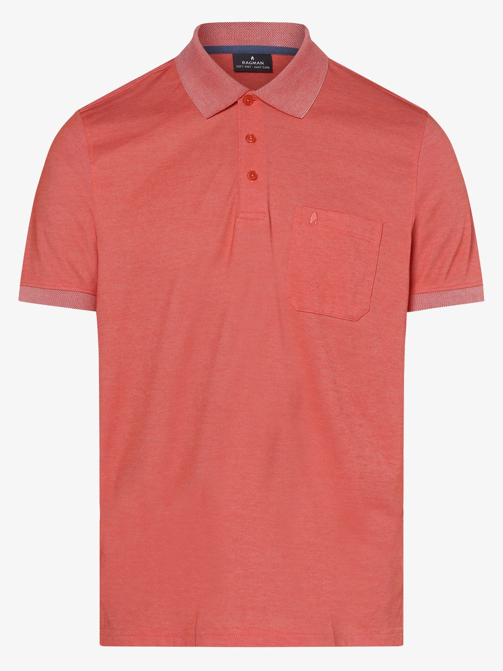 Ragman - Męska koszulka polo, lila