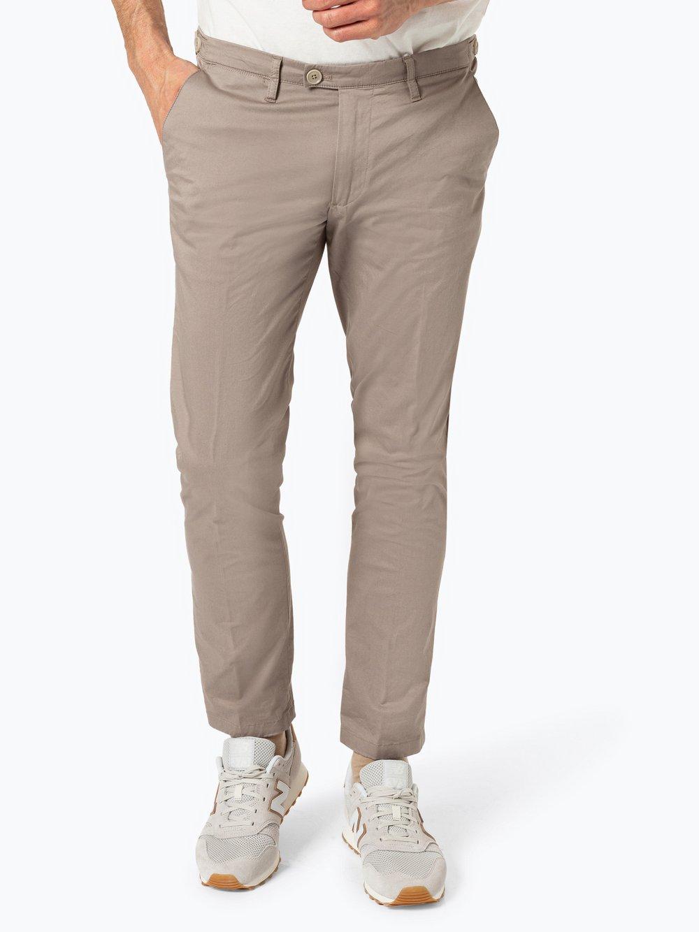 Drykorn - Spodnie męskie – Hoop_2, beżowy