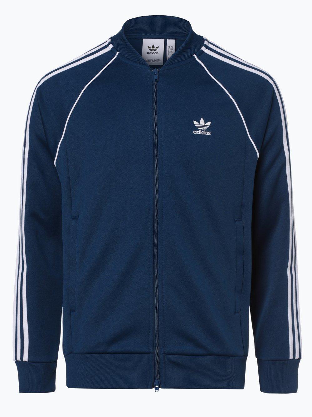 Obraz przedstawiający adidas Originals - Męska bluza nierozpinana, niebieski