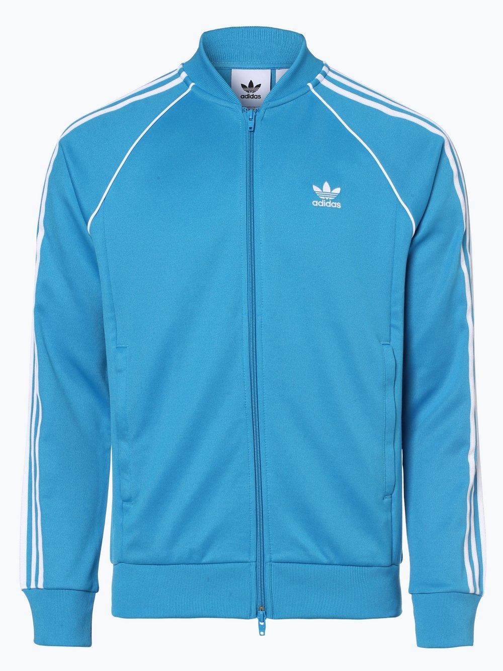 Obraz przedstawiający adidas Originals - Męska bluza rozpinana, niebieski