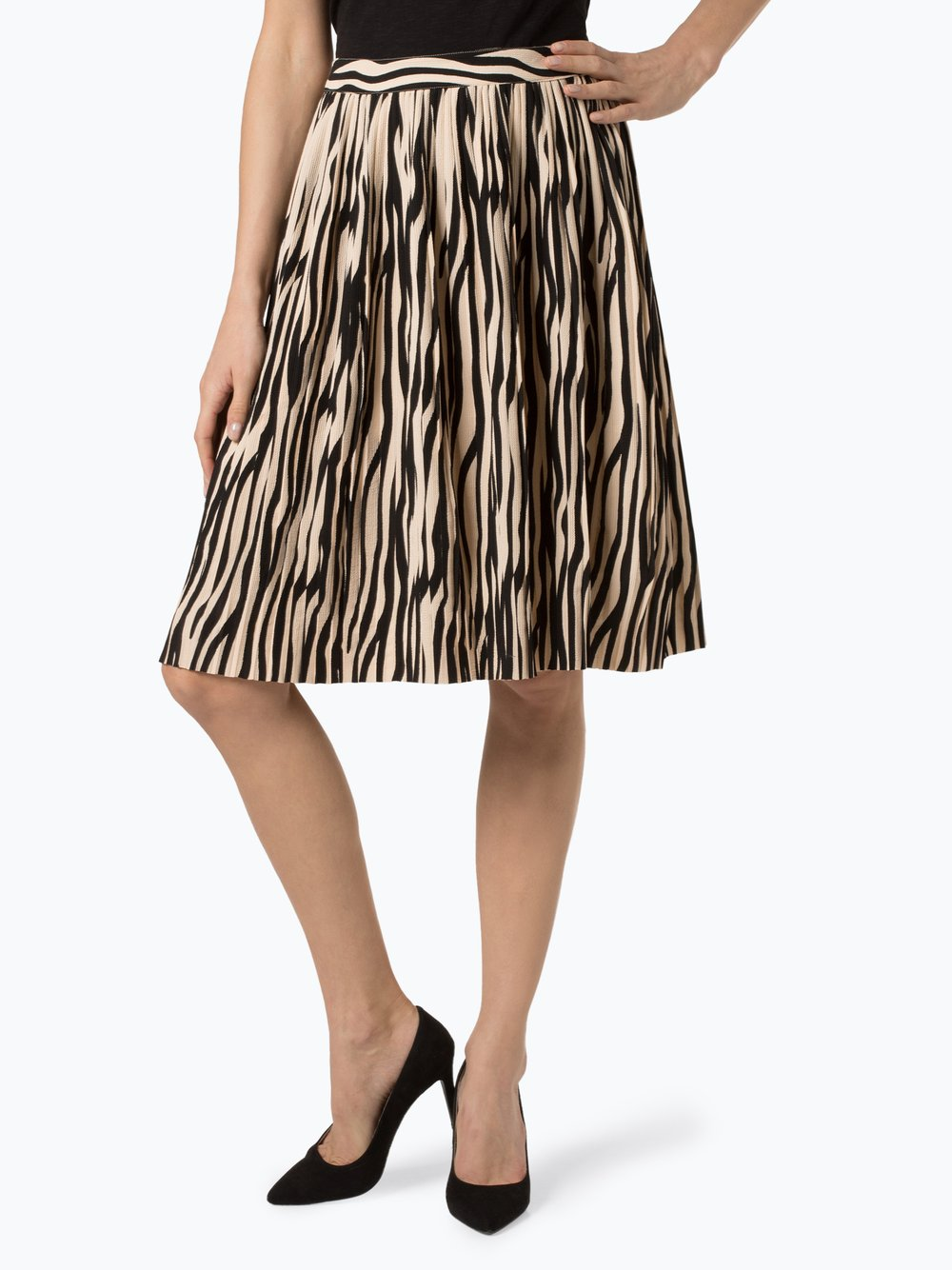 Minimum - Spódnica damska – Fluenca, beżowy Minimum