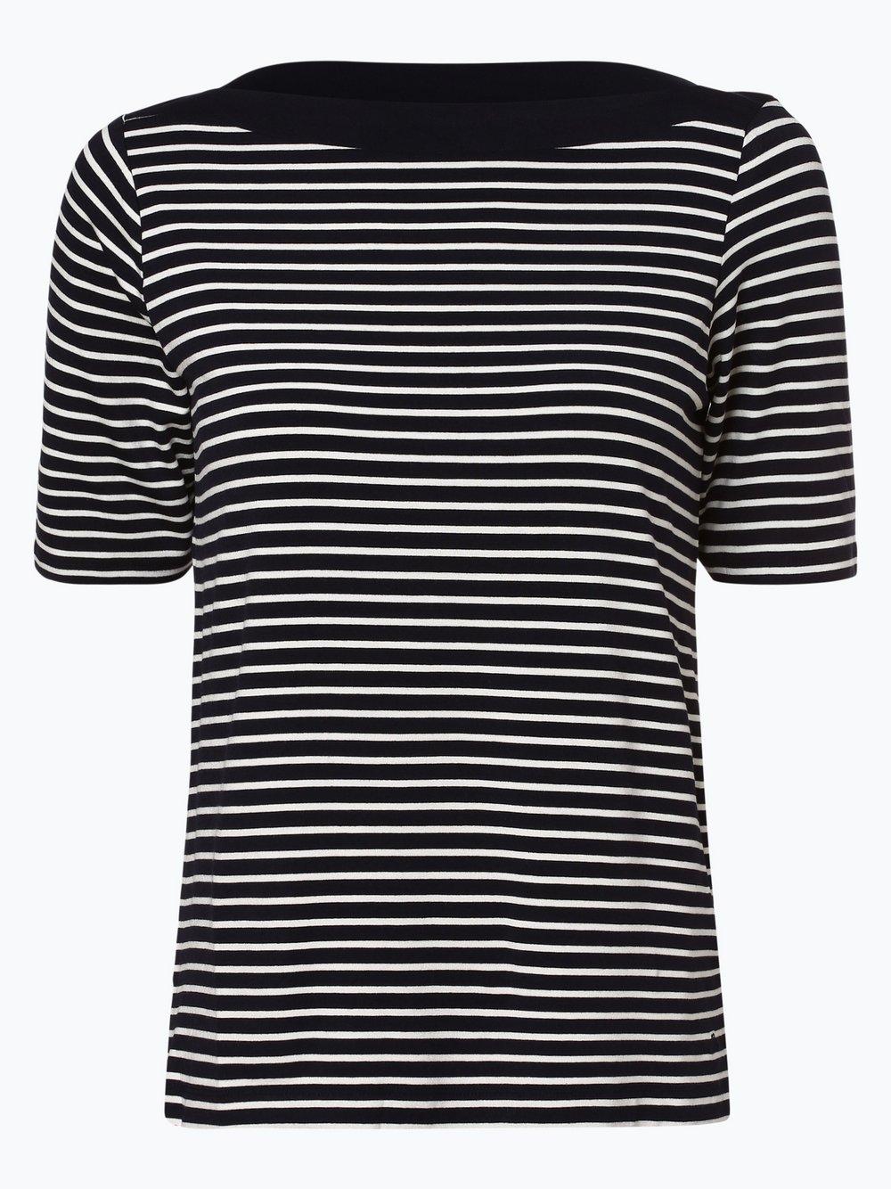 s.Oliver - T-shirt damski, niebieski