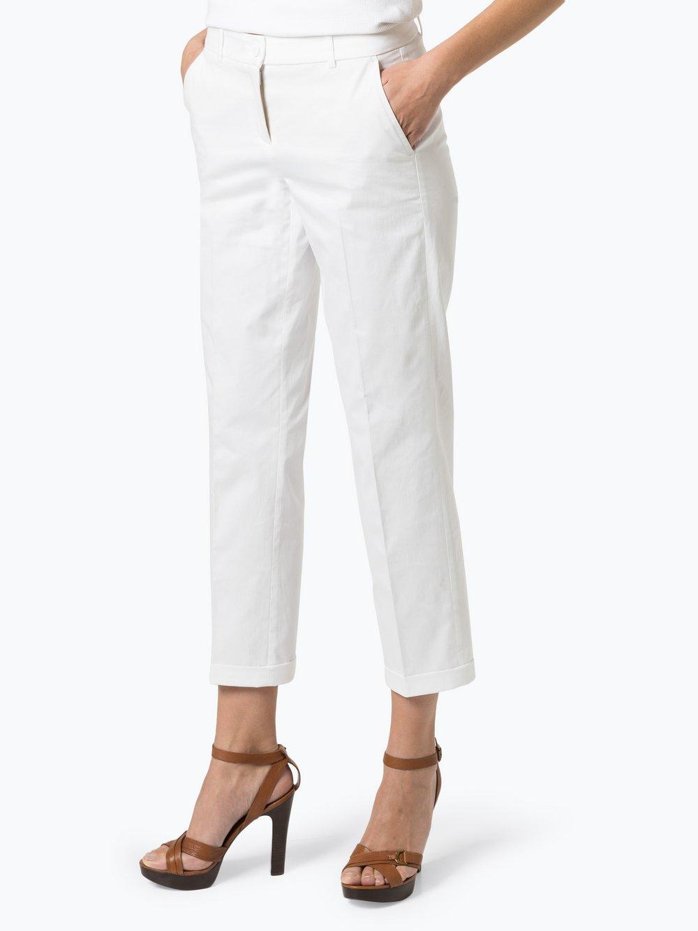 Cambio - Spodnie damskie – Ginger, biały