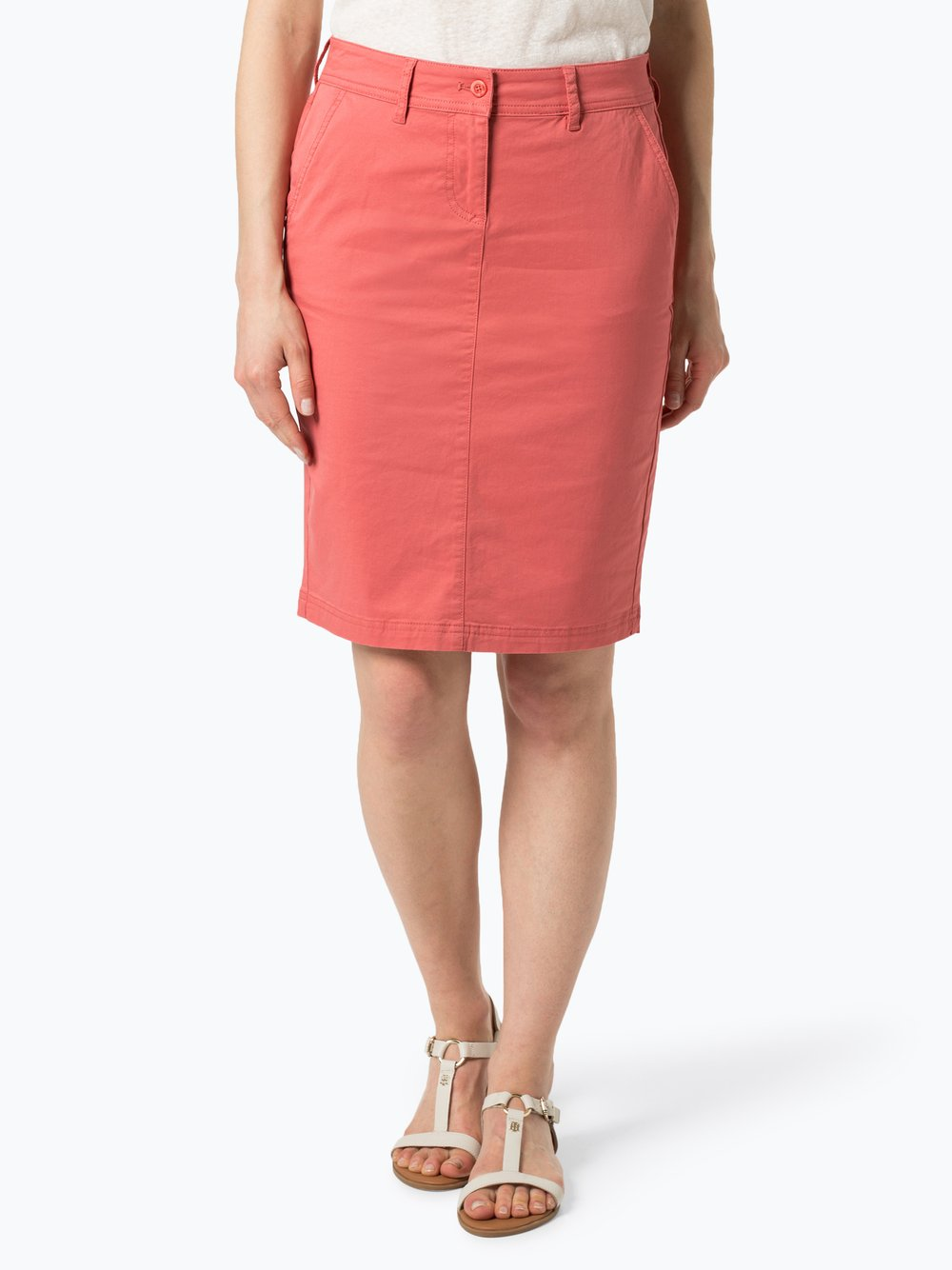Franco Callegari - Spódnica damska, pomarańczowy