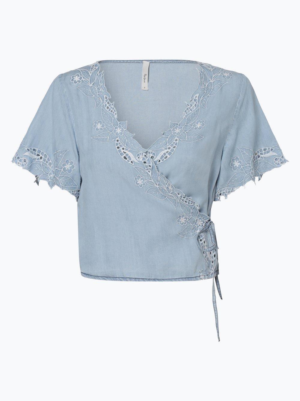 Pepe Jeans - Damska koszula jeansowa – Xenia, niebieski