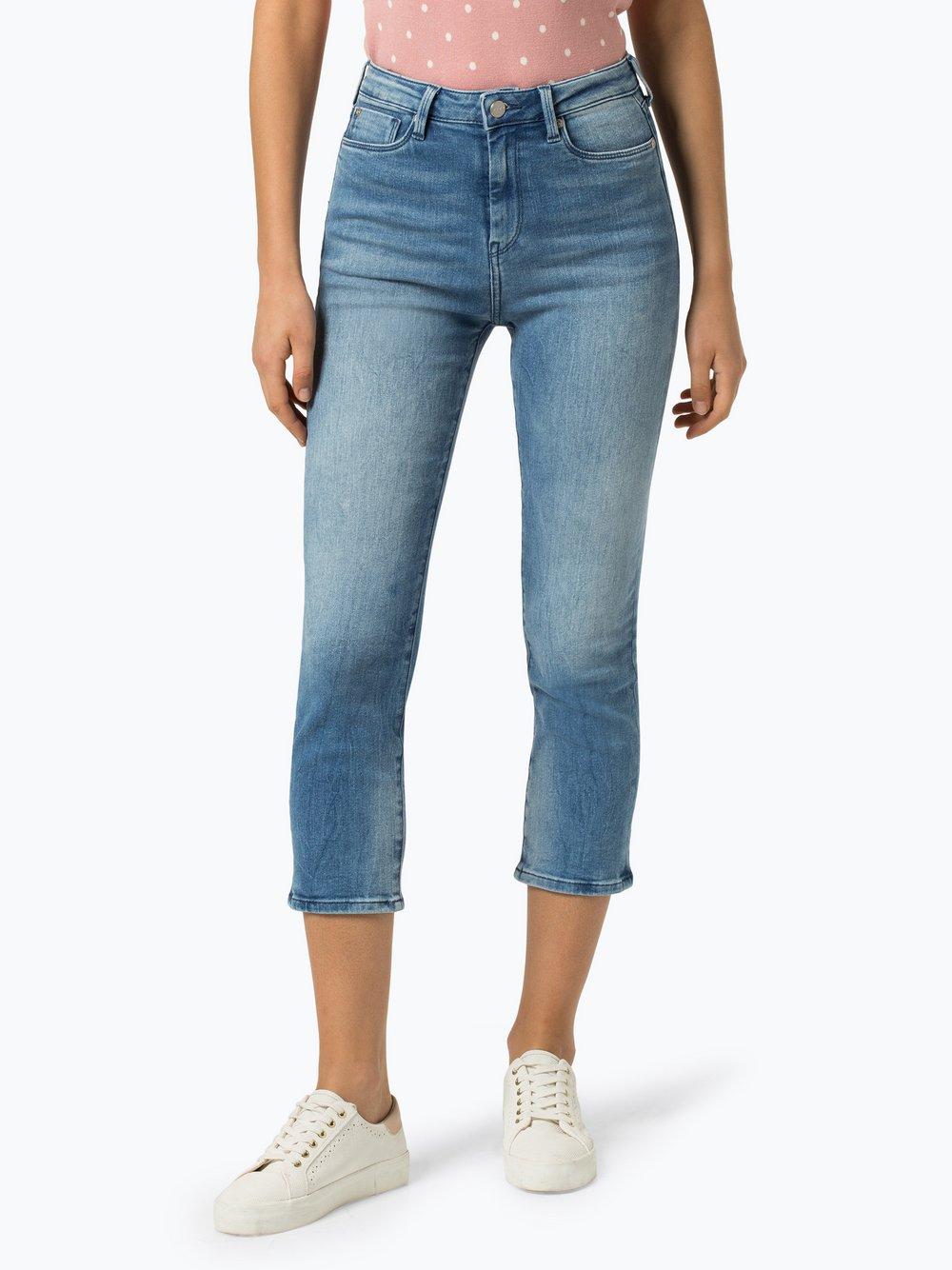 Pepe Jeans - Jeansy damskie – Dion 7/8, niebieski Pepe Jeans