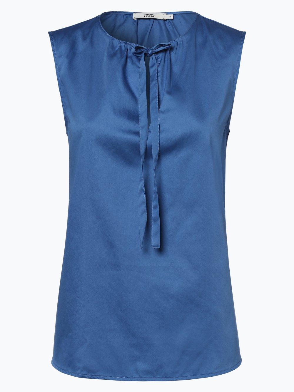 Obraz przedstawiający 0039 Italy - Damska bluzka bez rękawów, niebieski