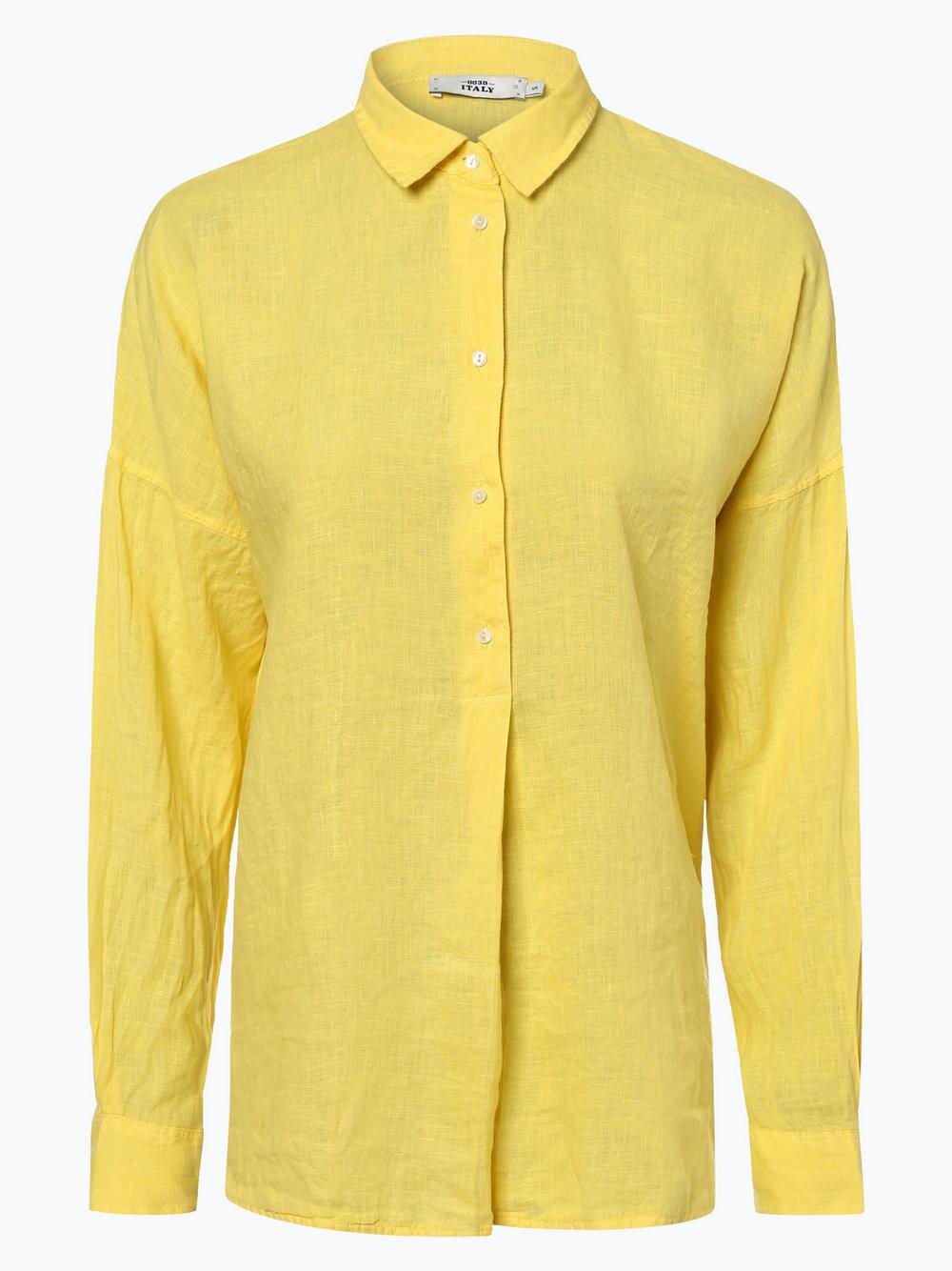 Obraz przedstawiający 0039 Italy - Damska bluzka lniana, żółty