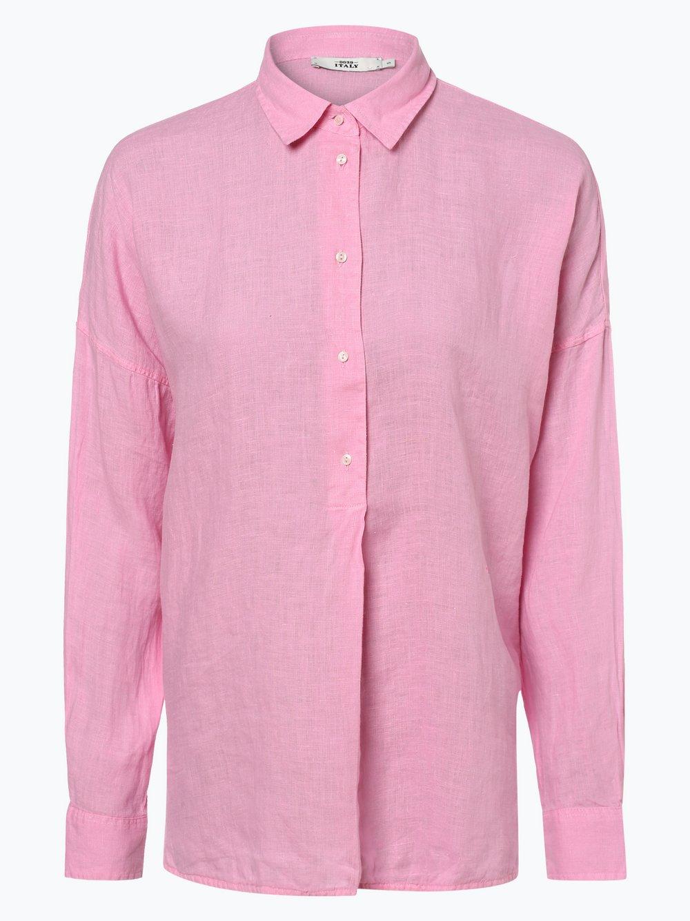 Obraz przedstawiający 0039 Italy - Damska bluzka lniana, różowy