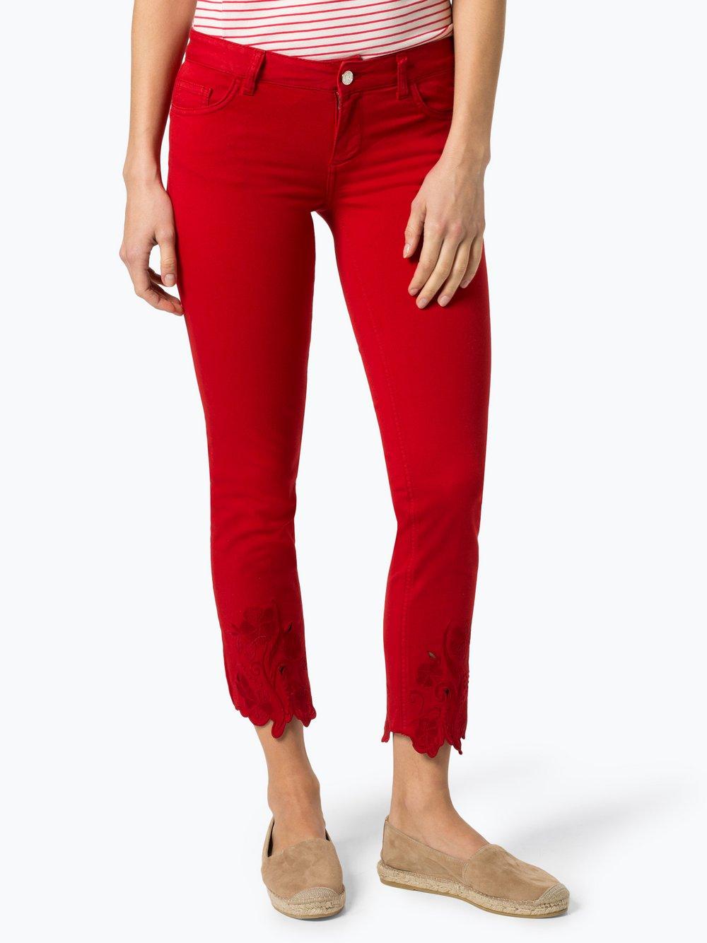 Liu Jo Collection – Jeansy damskie, czerwony Van Graaf 429425-0001