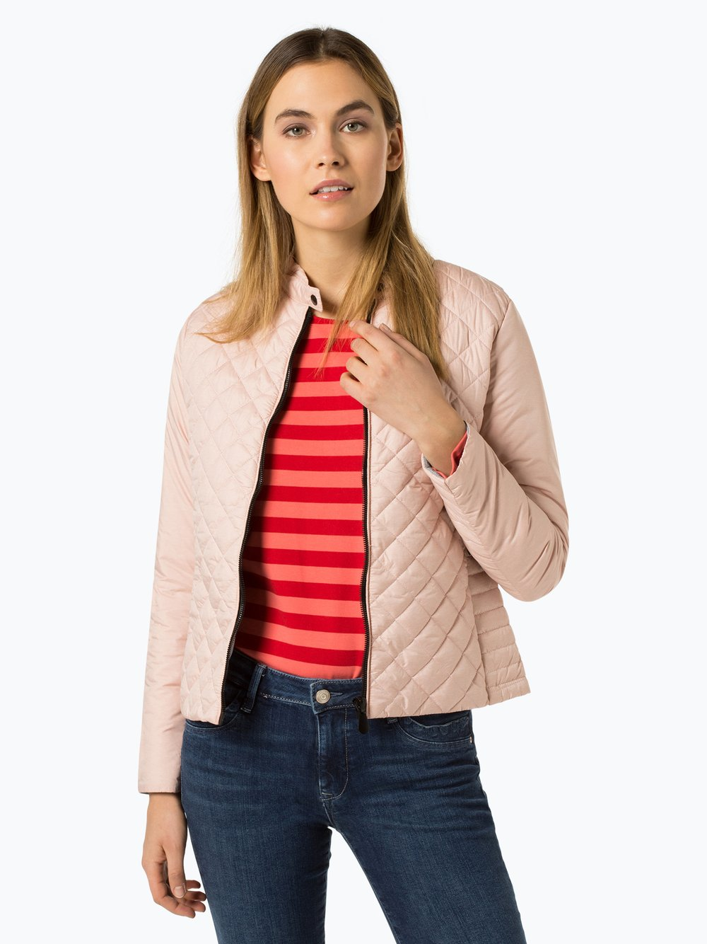 VG - Damska kurtka pikowana, różowy