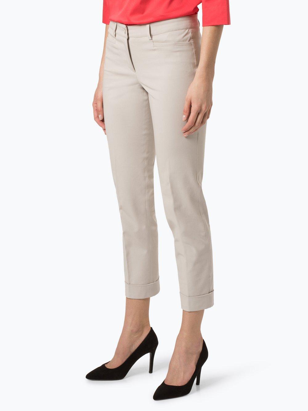 Cambio - Spodnie damskie – Renira, beżowy