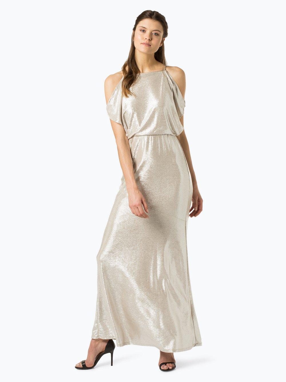 Lauren Ralph Lauren - Damska sukienka wieczorowa, złoty