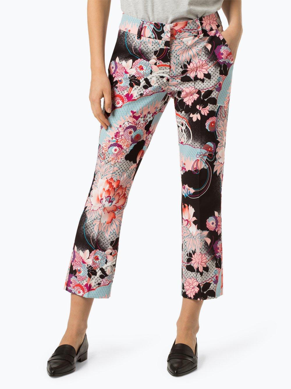 RAFFAELLO ROSSI - Spodnie damskie – Dora cropped, czarny