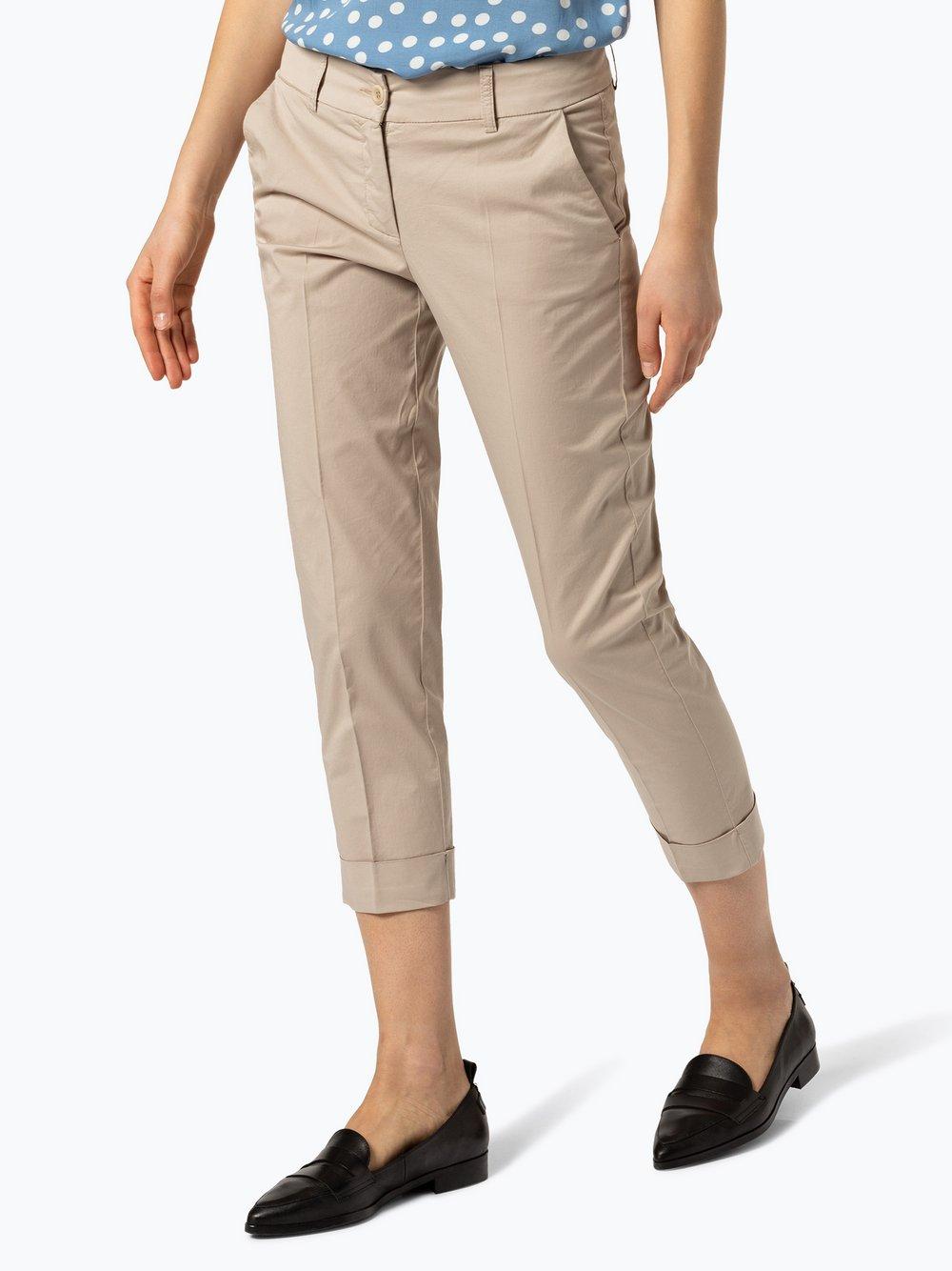 RAFFAELLO ROSSI – Spodnie damskie – Dora, beżowy Van Graaf 430365-0003-00460