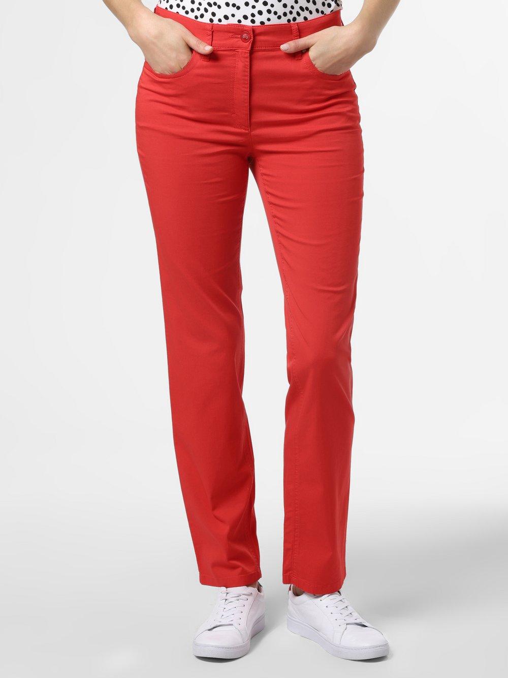 Zerres – Spodnie damskie, czerwony Van Graaf 431120-0001-00360
